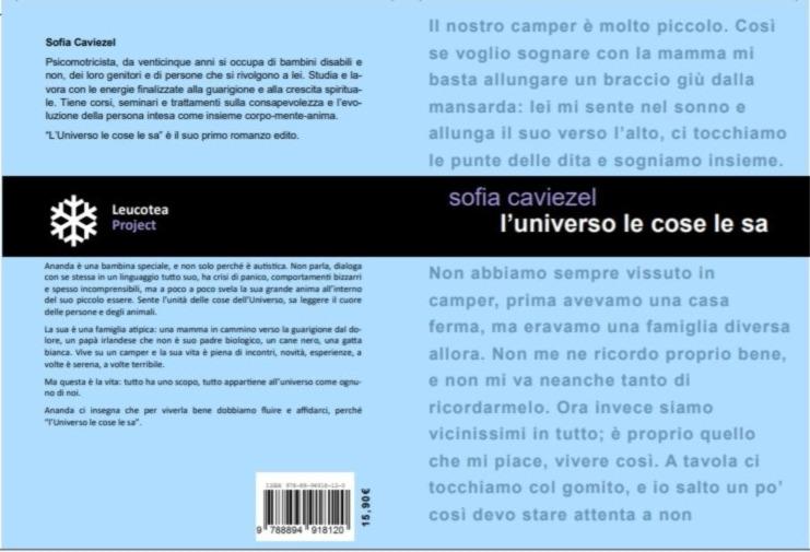 Sofia Caviezel l'universo le cose le sa